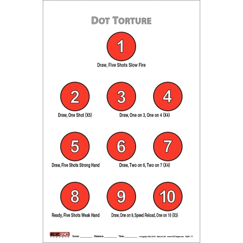 Style 17: Dot Torture Training Drill