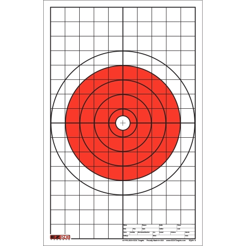 Style 5: Bullseye with Grids Sight-in