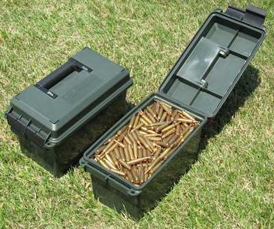 50 Caliber Ammo Can Green