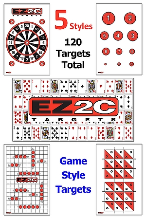120 EZ2C Targets Five Game Styles