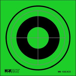 Mini Targets Green Style 6